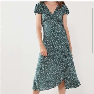 Urban Outfitters Wrap Maxi Dress Floral